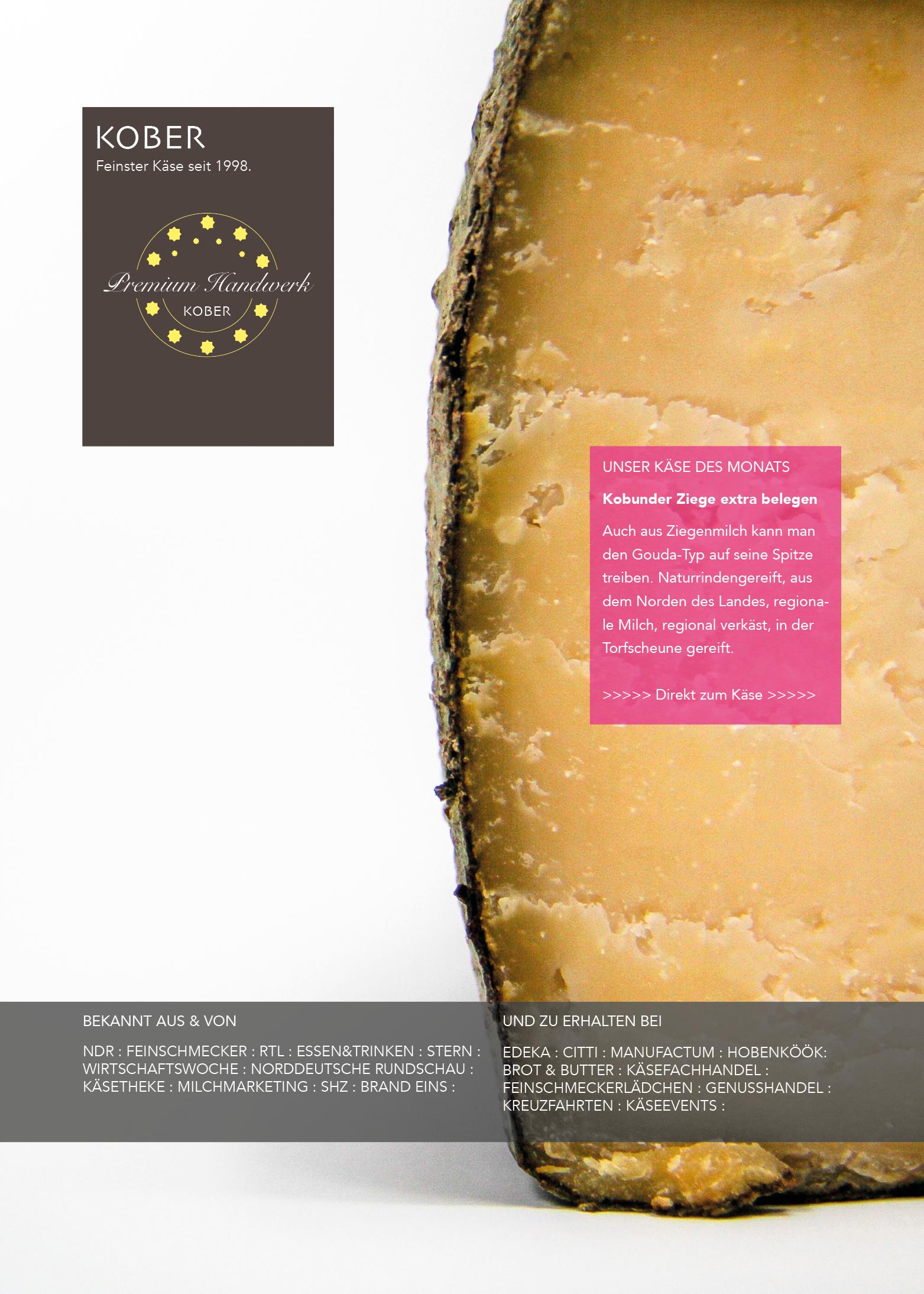 Kobuder Käse des Monats